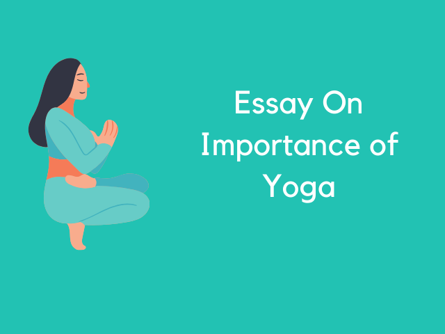 Essay On Importance of Yoga