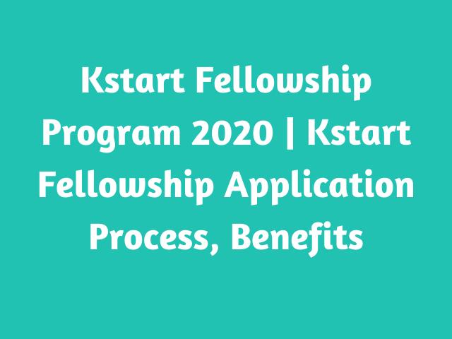 Kstart Fellowship