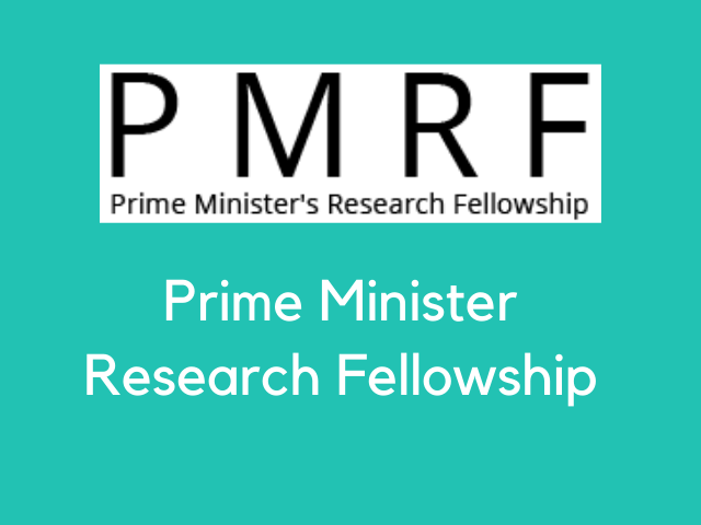 Prime Minister Research Fellowship