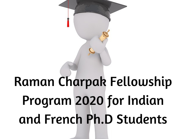 Raman Charpak Fellowship
