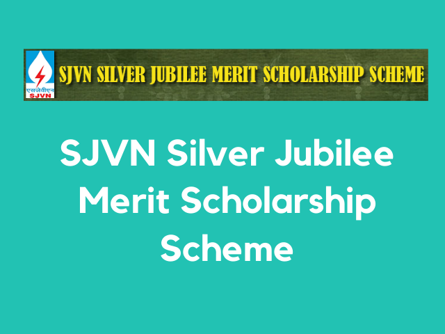 SJVN Scholarship
