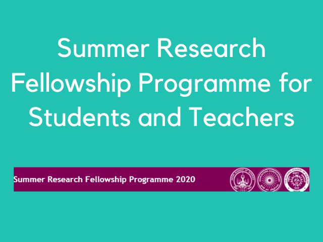 Summer Research Fellowship Programme