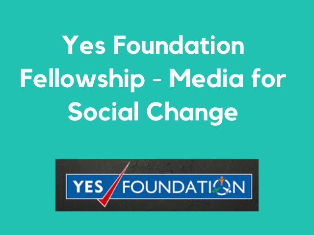 Yes Foundation Fellowship