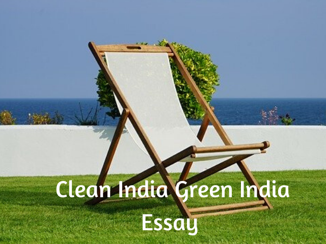 Clean India Green India Essay