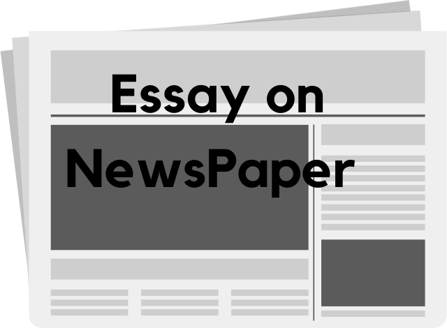 Newspaper Essay