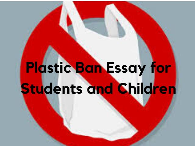 Plastic Ban Essay